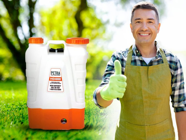 HD4000 Battery Powered Garden Sprayers with commercial quality standards.
